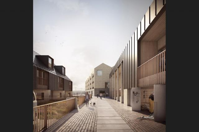 THIRD PHASE: Proposals for Hayle north quay submitted May 2018  Source: Forbes Massie